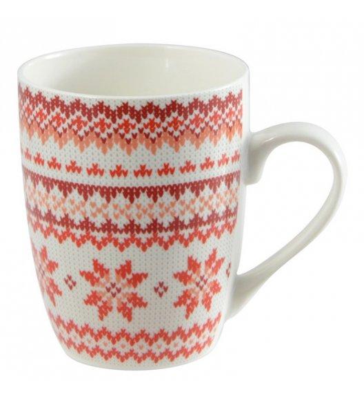 TADAR CZERWONY SWETEREK Kubek 350 ml / porcelana