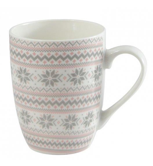 TADAR SZARY SWETEREK Kubek 350 ml / porcelana