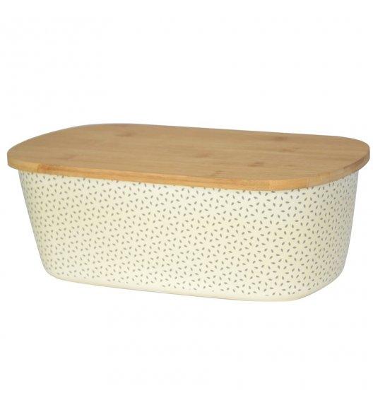 TADAR PRITY Chlebak z deską 35 cm / 2w1 / drewno bambusowe