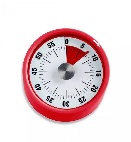 WYPRZEDAŻ! ADE Minutnik mechaniczny 6 x 3,5 cm z magnesem / czerwony / FreeForm