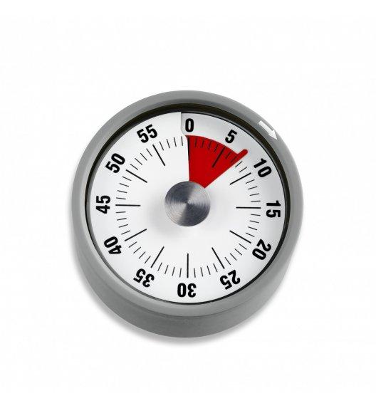ADE Minutnik mechaniczny z magnesem ⌀ 6 x 3,5 cm / szary / FreeForm