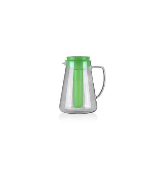 TESCOMA TEO Dzbanek 2,5 L z sitkiem do zaparzania oraz wkładem chłodzącym / zielony