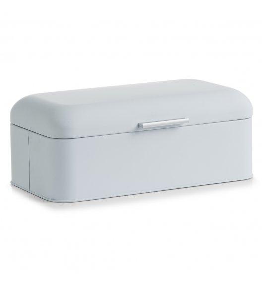 WYPRZEDAŻ! ZELLER RUBBER Pojemnik na pieczywo 42,5 cm / biały / metal