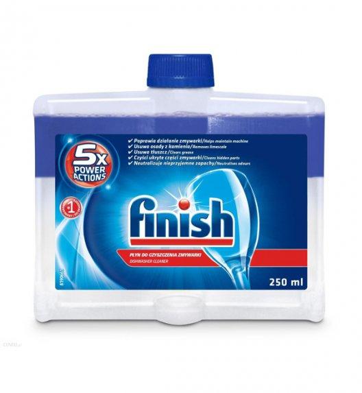 FINISH Płyn do czyszczenia zmywarek 250 ml / podwójna formuła