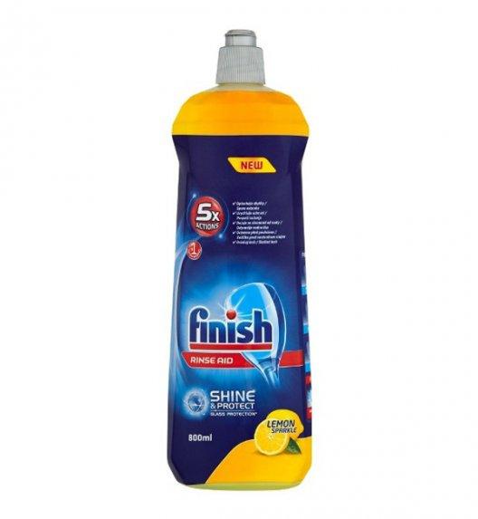 FINISH SHINE Płyn nabłyszczający do zmywarek Glass Protect 800 ml / Lemon