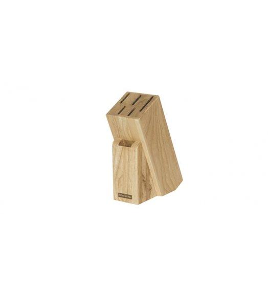 TESCOMA WOODY Blok na 5 noży / drewno kauczukowe