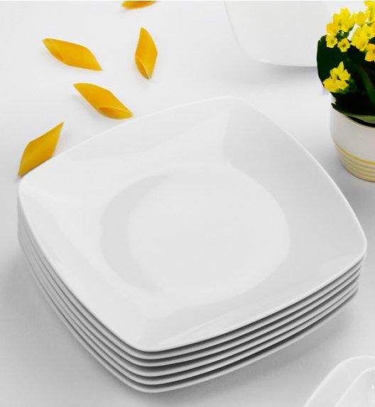 WYPRZEDAŻ! CHODZIEŻ AKCENT Komplet talerzy 12 el / 6 osób / porcelana