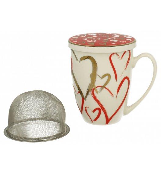WYPRZEDAŻ! DUO VARIUS SIMPLY LOVE F Kubek z zaparzaczem 320 ml / Porcelana
