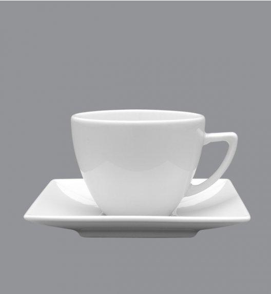 LUBIANA CLASSIC Filiżanka 280 ml + spodek 15 cm / porcelana