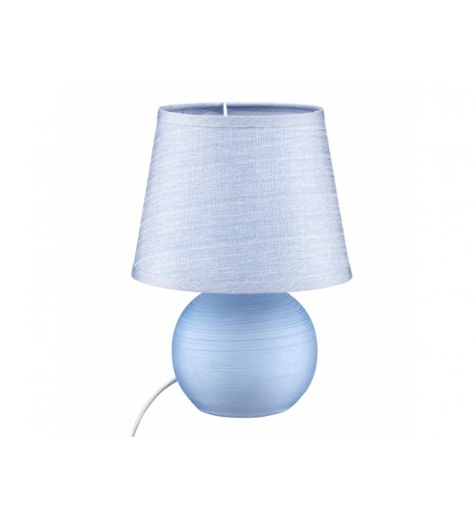 DOMOTTI LIVING Lampka stojąca 17 x 23 / niebieska / ceramika / 69203