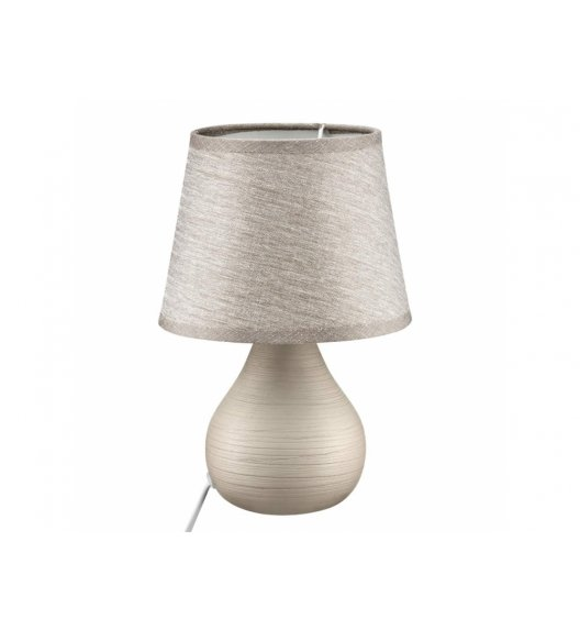 DOMOTTI LIVING Lampka stojąca 17 x 25 / brązowa/ ceramika / 69204