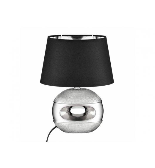 DOMOTTI LIVING Lampka stojąca 23 x 16 x 30 cm / srebrna / ceramika / 69205