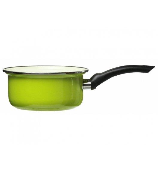 DOMOTTI VIGO Rondel emaliowany 0,5 l / 12 cm / zielony / indukcja / 65433