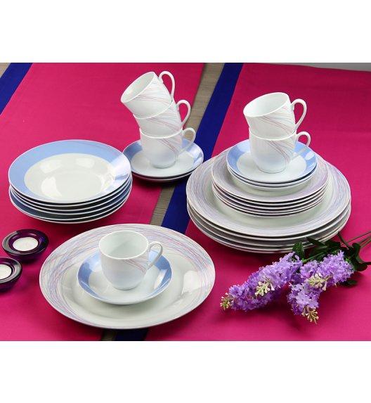 WYPRZEDAŻ! ARZBERG KATE Niemiecki Serwis obiadowo-kawowy 23 elementy / Porcelana