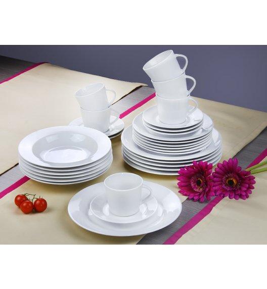 ARZBERG CLASSICO Niemiecki serwis obiadowo-kawowy + Lubiana 61 el / 12 os / porcelana + GRATIS!