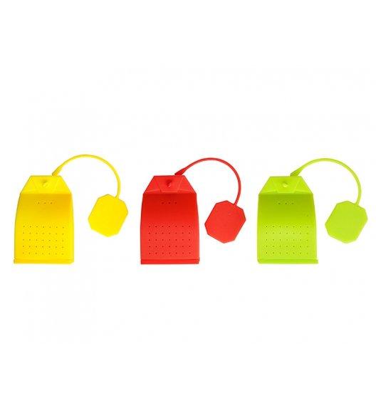 DOMOTTI Zaparzacz do herbaty / silikon / mix kolorów / 97340