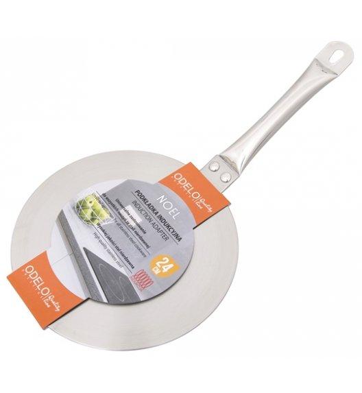 ODELO NOEL Adapter na kuchnię indukcyjną 24 cm / stal nierdzewna