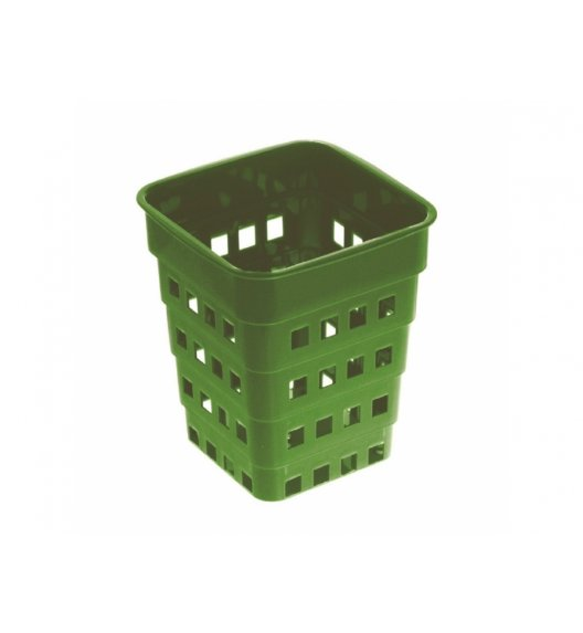 DOMOTTI MARY Ociekacz na sztućce 1-komorowy 14 cm / zielony / 699465