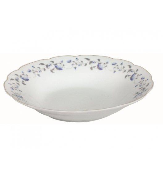 DOMOTTI IRYS Talerz głęboki 23 cm / porcelana / 63163