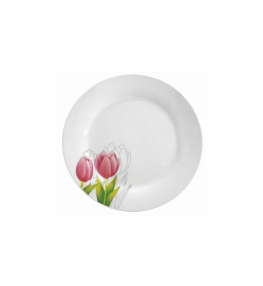 DOMOTTI TULIPAN Talerz deserowy 18 cm / porcelana / 63190