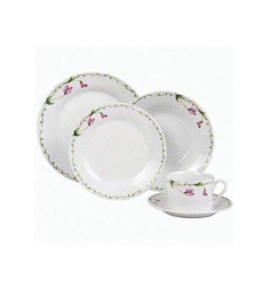 DOMOTTI PRESILLA Talerz obiadowy 23 cm / porcelana / 63204
