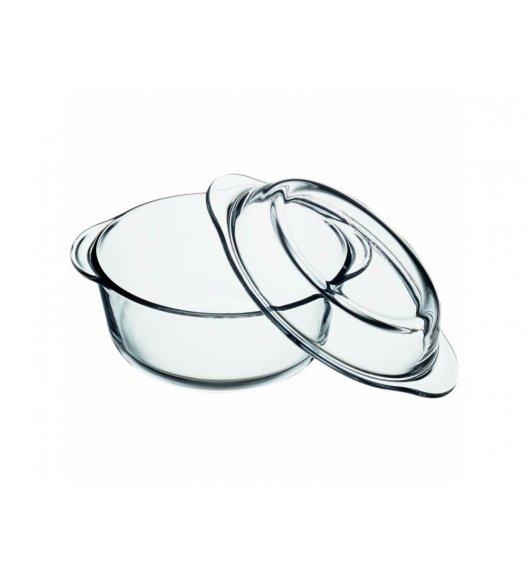 AMBITION EXCELLENT Naczynie żaroodporne 4 l z pokrywką / okrągłe / Ø24 cm / szkło / 74822