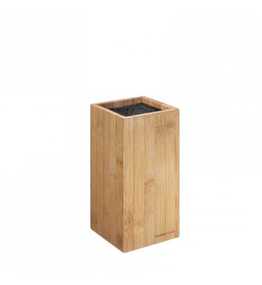 WYPRZEDAŻ! ZASSENHAUS Bambusowy blok na noże 12x12x23 cm ECO LINE / FreeForm