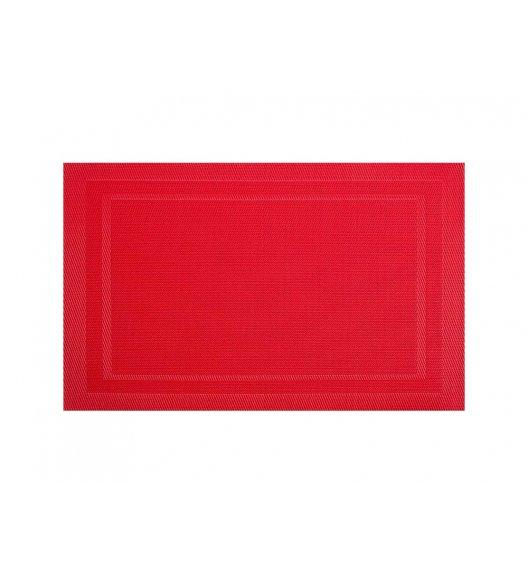 AMBITION FUSION FRESH Mata stołowa 30 x 45 cm / prostokątna / czerwona / 21258