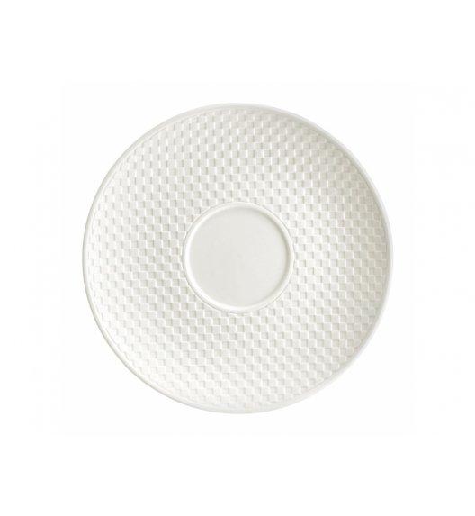 AMBITION NORDIC Spodek pod filiżankę 15,5 cm / kremowy / porcelana