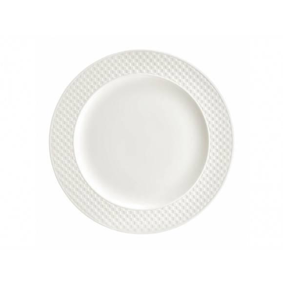 AMBITION NORDIC Talerz deserowy 21,5 cm / kremowy / porcelana
