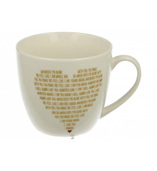 DUO SIMPLY LOVE B Kubek 460 ml / porcelana