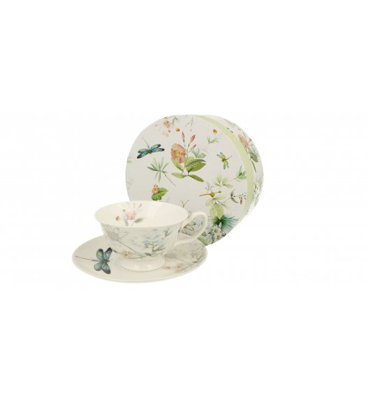 DUO HANA Filiżanka ze spodkiem 200 ml / porcelana New Bone China