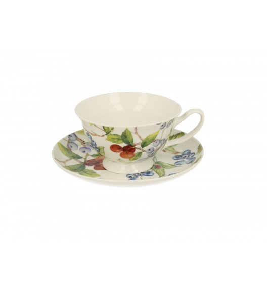 DUO LAMIS Filiżanka ze spodkiem 200 ml / porcelana New Bone China
