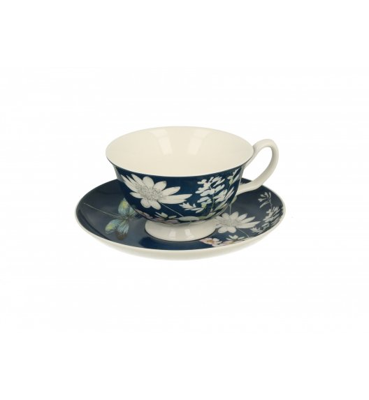 DUO RABIA Filiżanka ze spodkiem 200 ml / porcelana New Bone China