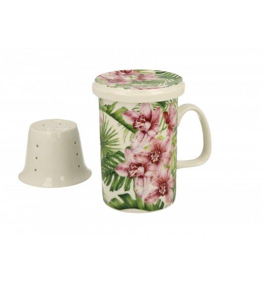 DUO CHLOE Kubek z zaparzaczem 300 ml / porcelana wysokiej jakości