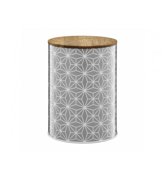 AMBITION GALAXY Puszka 1,2 l z bambusowym wieczkiem / styl skandynawski / 29587