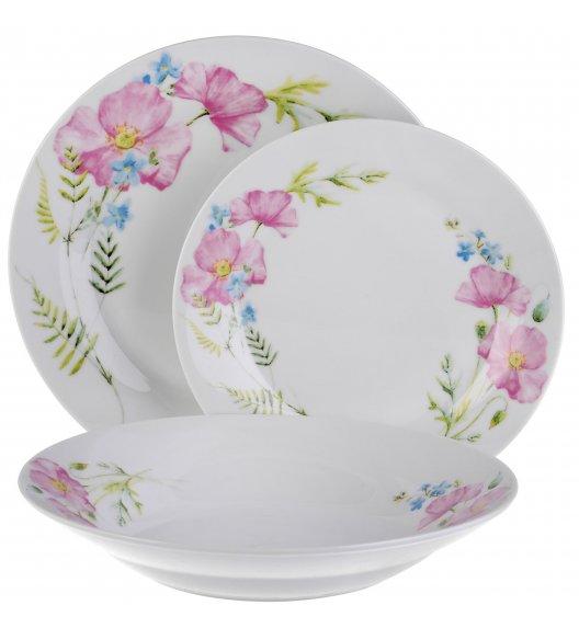 TADAR EVIKA Serwis obiadowy 18 elementów dla 6 osób / ceramika