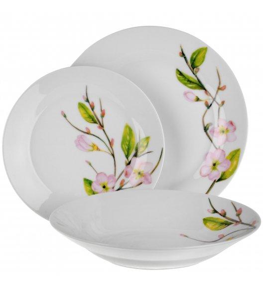 TADAR LINA Serwis obiadowy 18 elementów dla 6 osób / ceramika