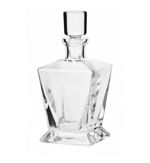 KROSNO CARO Karafka do whisky 750 ml / ręcznie formowane / szkło najwyższej jakości