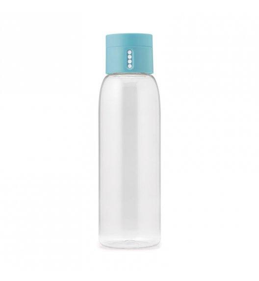 JOSEPH JOSEPH DOT Butelka na wodę 600 ml / turkusowa / Btrzy