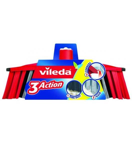 VILEDA® 3Action Szczotka do zamiatania / 3 rodzaje włosia / 173118 / DELHAN