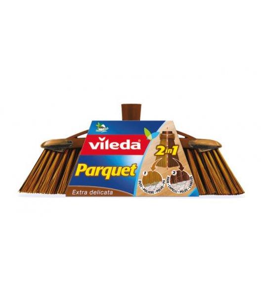 VILEDA® Parquet 2w1 Szczotka do parkietu + trzon / 136083 / DELHAN