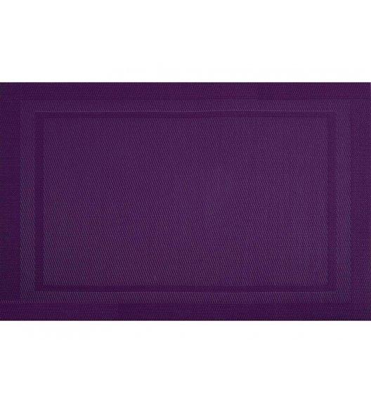 AMBITION VELVET FRESH Mata stołowa 30 x 45 cm / prostokątna / fioletowa / 21255