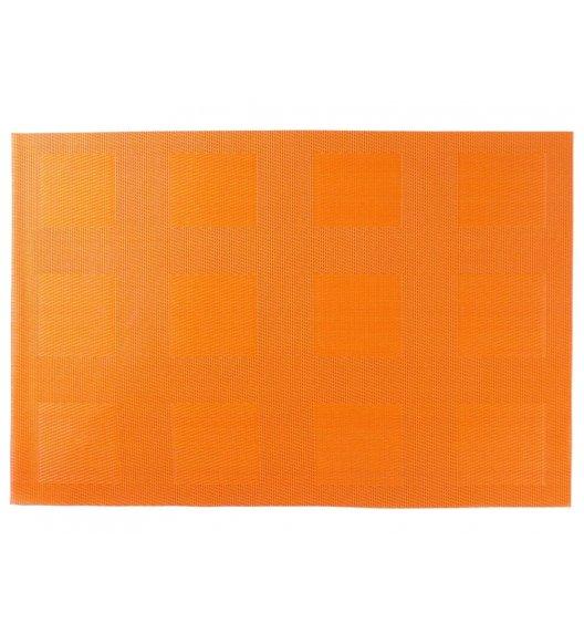 AMBITION VELVET Mata stołowa 30 x 45 cm / prostokątna / orange / 36411