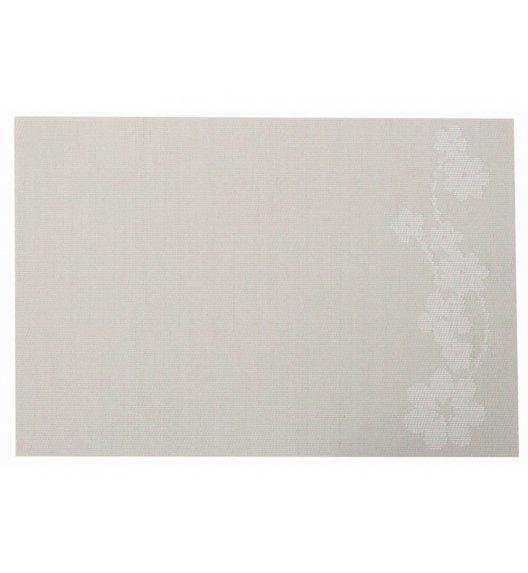 AMBITION DREAM Mata stołowa 30 x 45 cm / prostokątna / beżowa / gałązka / 37040