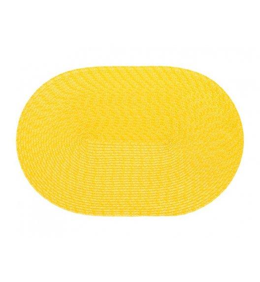 AMBITION SWEET Mata stołowa 30 x 45 cm / owalna / żółta / 37065