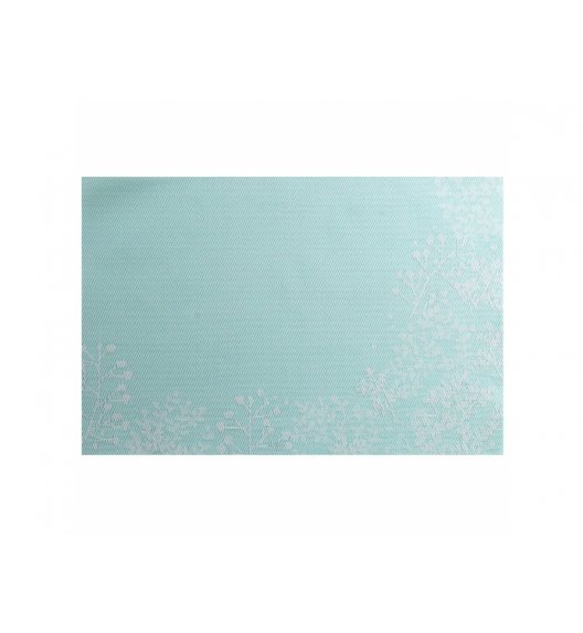 AMBITION NORDIC Mata stołowa 30 x 45 cm / błękitna / gałązka / 37072