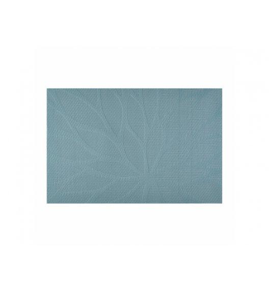 AMBITION VELVET Mata stołowa 30 x 45 cm / prostokątna / niebieska / 37082