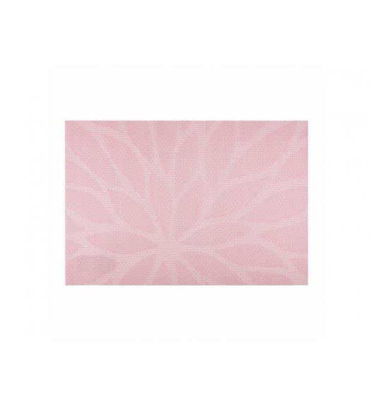 AMBITION VELVET Mata stołowa 30 x 45 cm / prostokątna / różowa / 37084