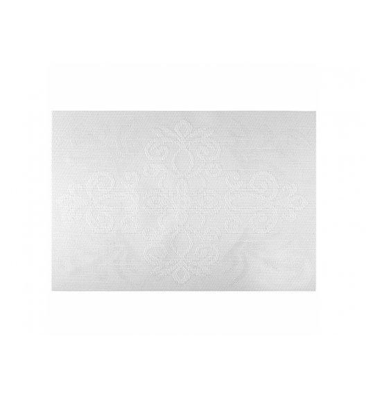 AMBITION GLAMOUR Mata stołowa 30 x 45 cm / prostokątna / biała / 37086